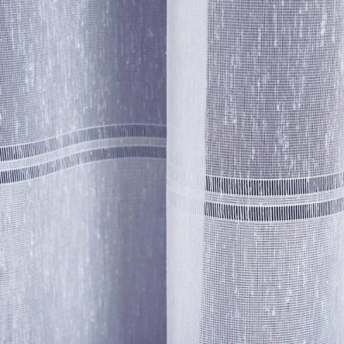 Obrus biało-srebrny