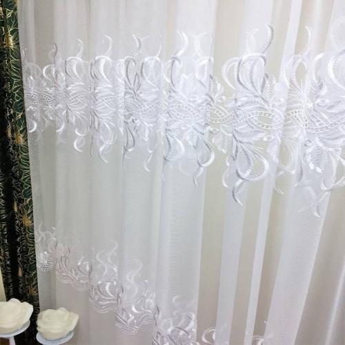 Firana gipiurowa Chania do salonu,sypialni