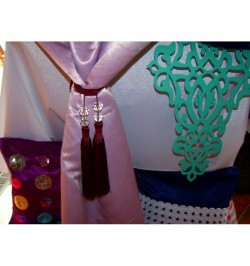 Lukrecja firana haftowana